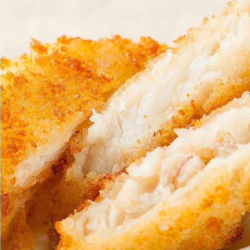 【惠之园】深海鳕鱼排780g*2份油炸食品