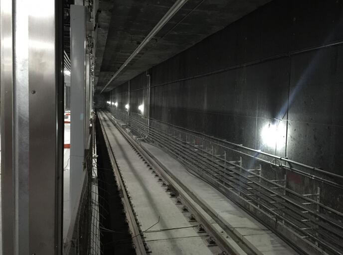 最新实拍合肥地铁1号线合肥南站站点 高清大图展示施工进度