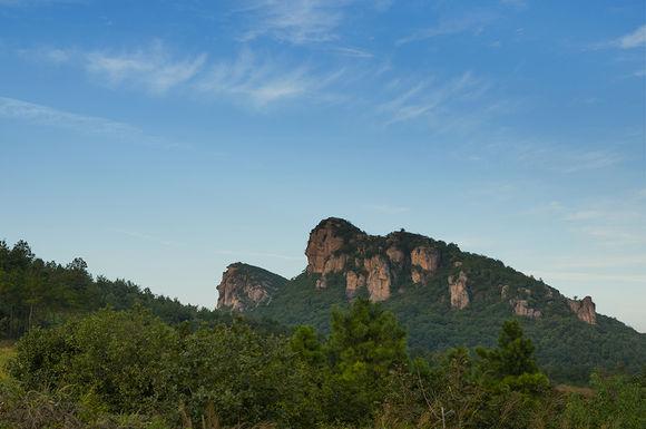 庐江中学风景图片